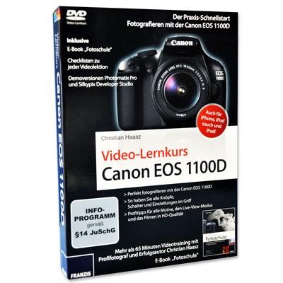 DVD: Video Lernkurs Canon EOS 1100D