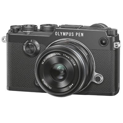 Olympus PEN-F Set + 1,8/17mm, schwarz