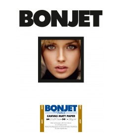BONJET PhotoArt, CANVAS MATT DIN A3+, 30Bl., 230g