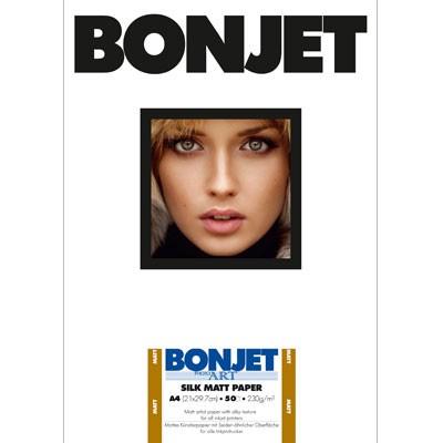 BONJET PhotoArt, SILK MATT DIN A4, 50Bl., 230g