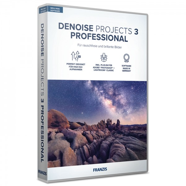 Franzis Denoise projects 3 professional