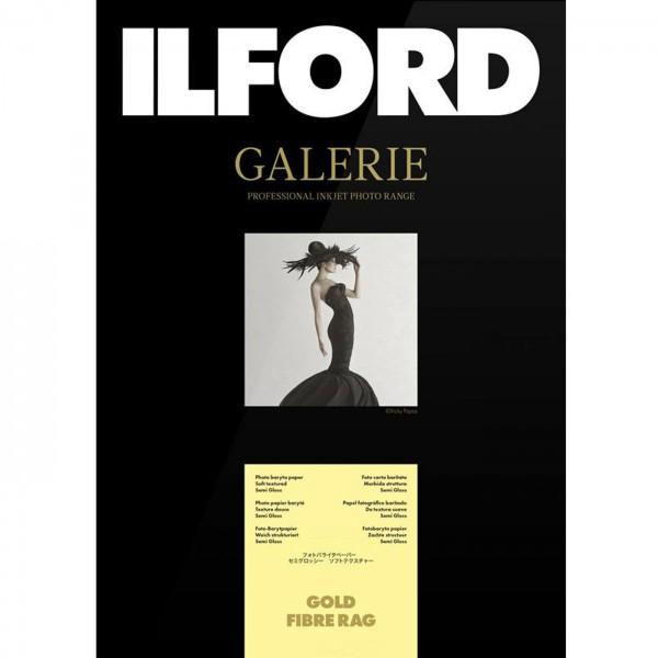 Ilford Galerie Gold Fibre Rag 270g 25Bl A3