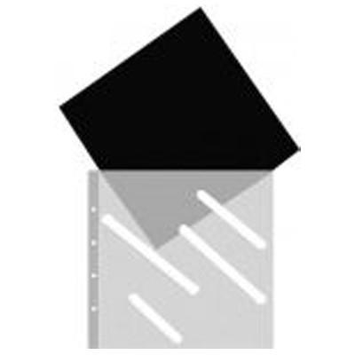 Klarsichthüllen PP 30x32cm, 10 St., schwarz