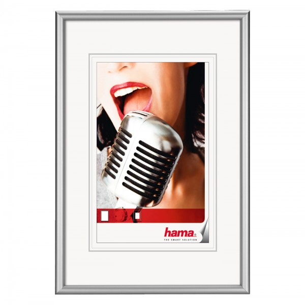 "Hama Alu-Rahmen ""Chicago"" 20x30cm, silber"