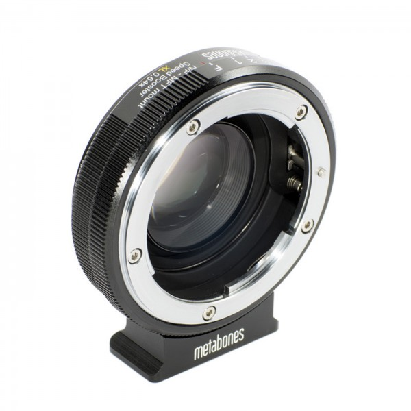 Metabones Speed Booster XL Nikon G an MFT 0,64x
