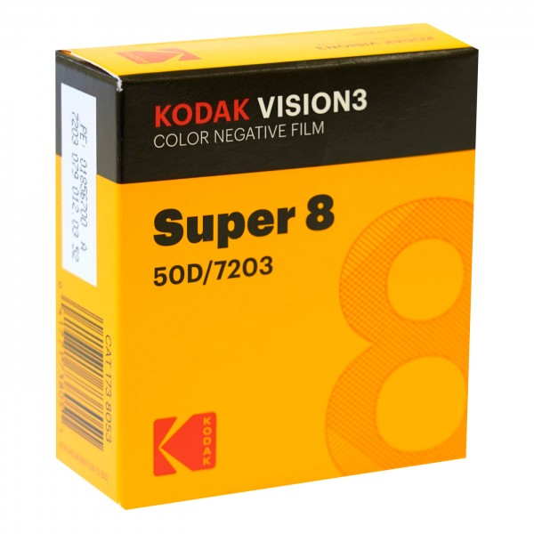 Kodak Vision3 50D 7203, 8 mm x 15 m Schmalfilm