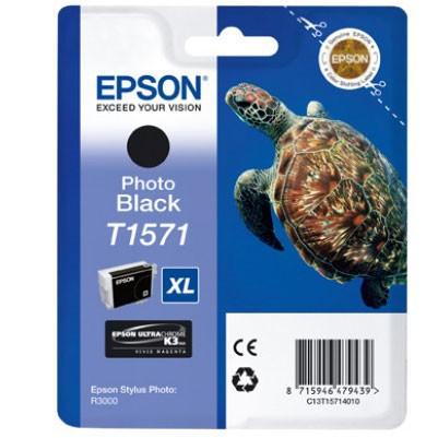 Epson Tinte (T1571) photo black für R3000