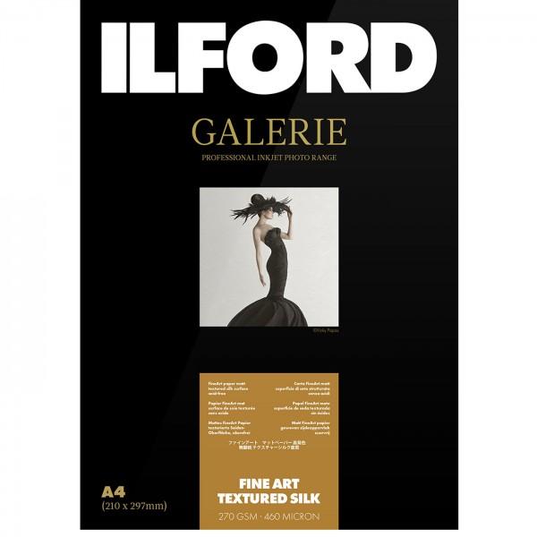 Ilford PrestigeFineArtTextured Silk 270g10x15 50Bl