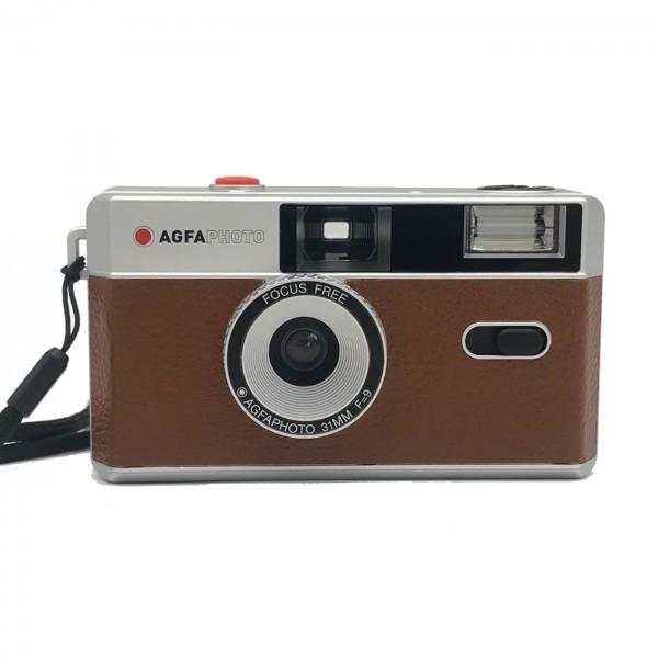 Agfa Photo Analoge 35mm Kamera, braun