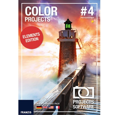 Franzis Color Projects elements #4 Software