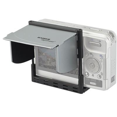 Kaiser Monitor-Blendschutz Digishield 6,9cm,silber