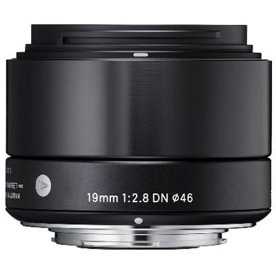 """Sigma 2,8/19mm DN """"Art"""" für MFT, schwarz"""