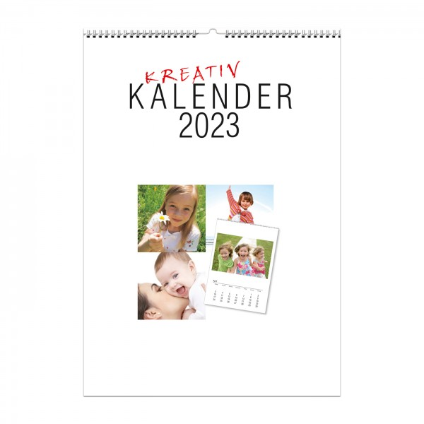 Kalender 2022 - Größe DIN A4 für Fotos 13x18