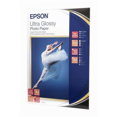 Epson Ultra Glossy Photo Papier 300g 20 Bl. 10x15