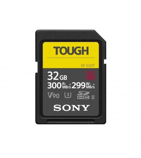 Sony SDHC SF-G Tough Class 10 UHS-II 300MB/s 32GB