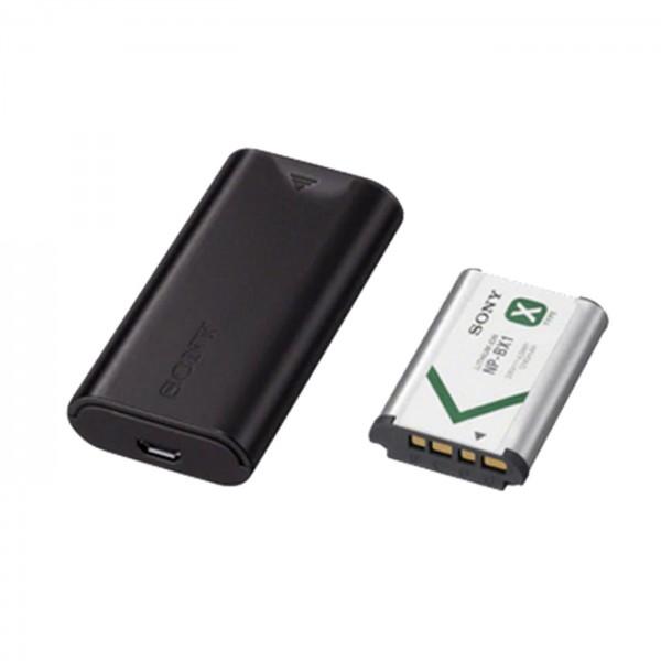 Sony ACC-TRDCX USB-Reiseladegerät und Akku NP-BX1