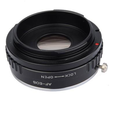 B.I.G. Objektivadapter m.Linse Sony A an Canon EF