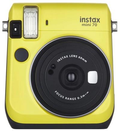 Fuji Instax mini 70, gelb