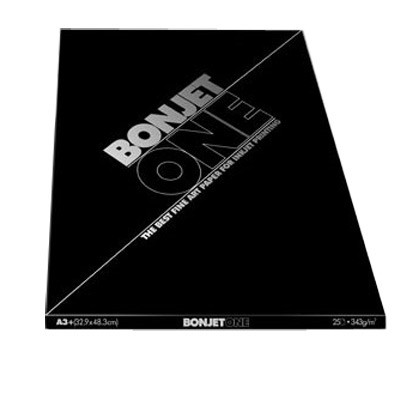 BONJET One 343g., 25 Blatt A4 , seidig glatt