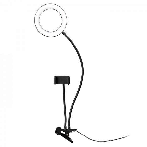 Dörr SLR-16 LED Selfie Ringlicht Bi-Color