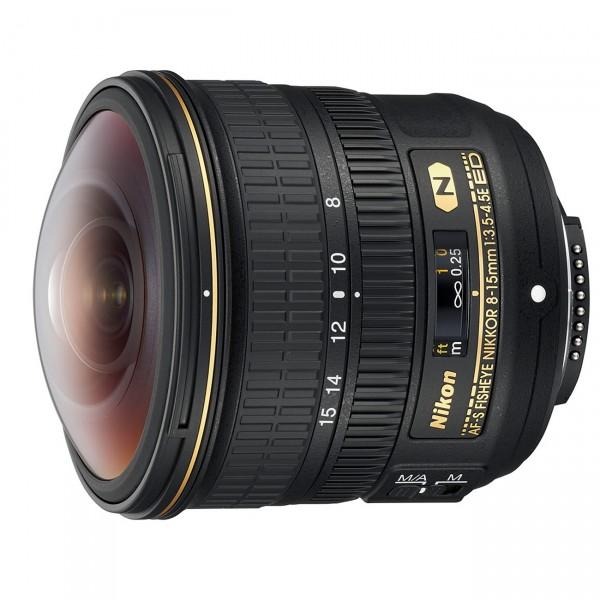 Nikon AF-S NIKKOR Fisheye 3,5-4,5/8-15mm E ED