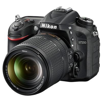 Nikon D7200 Set + AF-S 3,5-5,6/18-140mm G ED VR