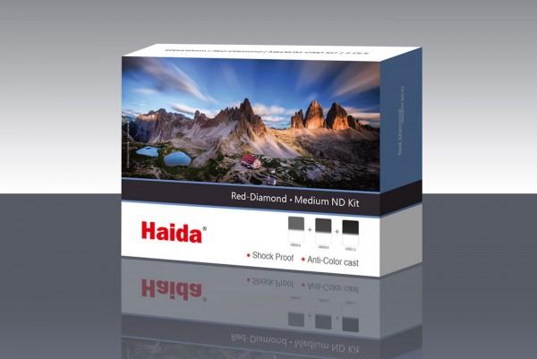 Haida Red Diamond Medium GND 100x150 Filter-Kit