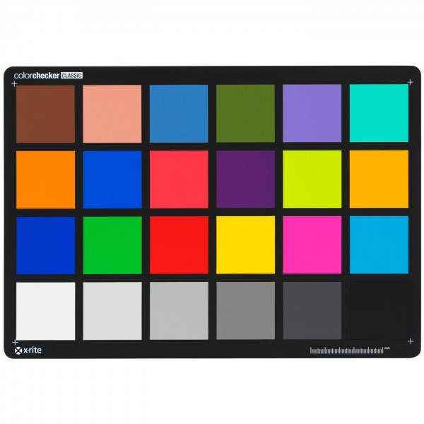 x-rite ColorChecker Classic Farbkarte