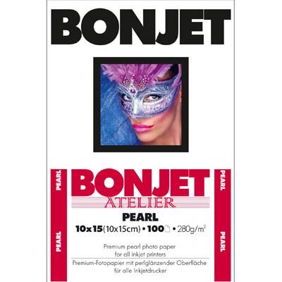 BONJET Atelier Pearl 10x15, 100 Bl. 300g