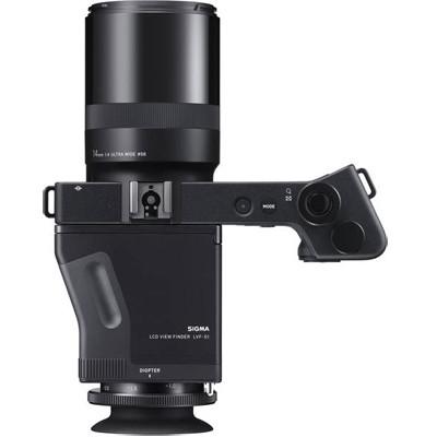 Sigma dpO Quattro Kamera + LED Sucher