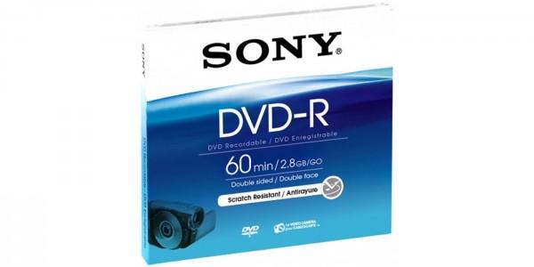 Sony DMR60A 8cm DVD-R doppelseitig 60 min.