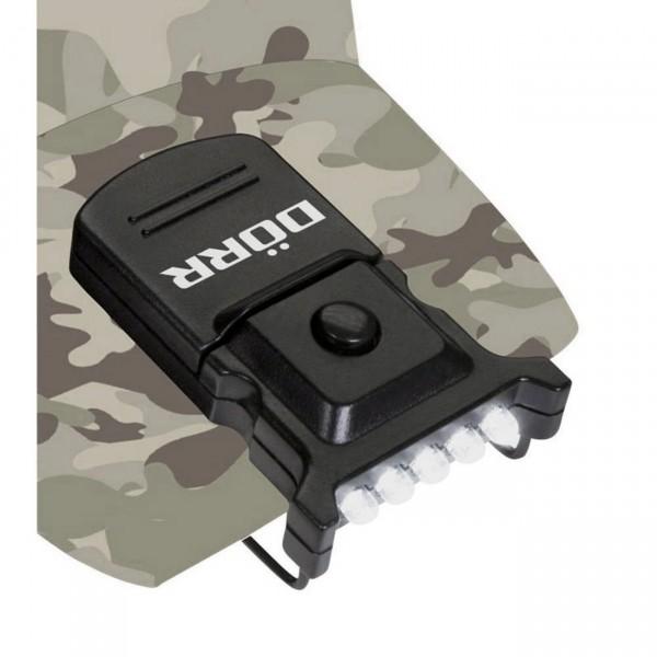 Dörr CL-5 Micro LED Cap Light mit Clip