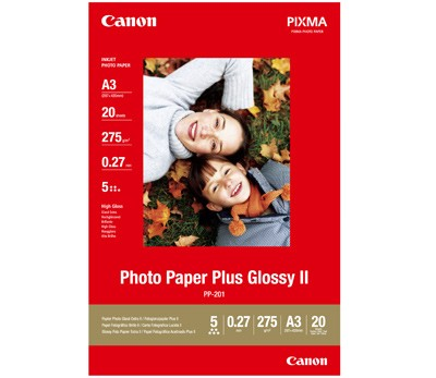 Canon PhotoPaper Plus II PP-201 glossy 20 Bl. A3