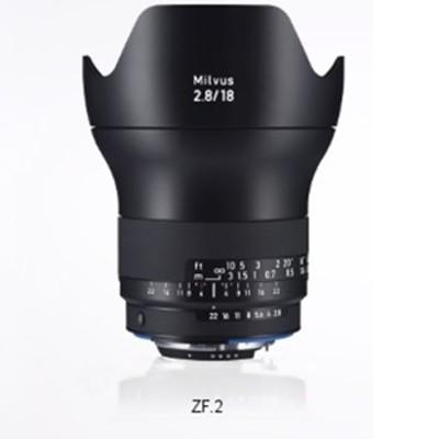 Zeiss Milvus 2,8/18 ZF.2 für Nikon