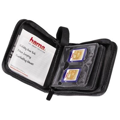 Hama Speicherkarten-Tasche, schwarz