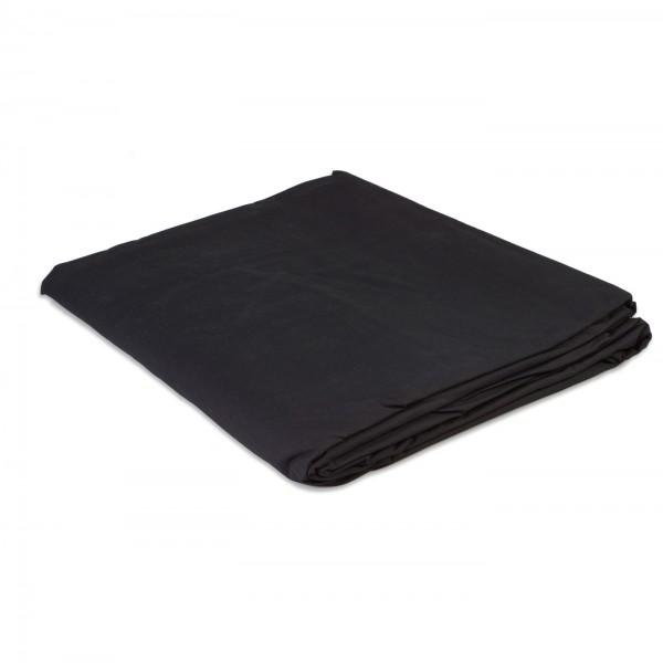 HELIOS Stoffhintergrund schwarz, 300x700cm