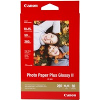 Canon PhotoPaper Plus II PP-201 glossy 50 Bl.10x15