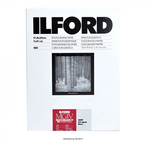 Ilford MG RC PORTFOLIO 44K perlmatt 100Bl., 20x25