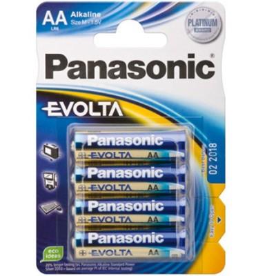 Panasonic EVOLTA Mignon (AA/LR6) Batterie 4er Pack