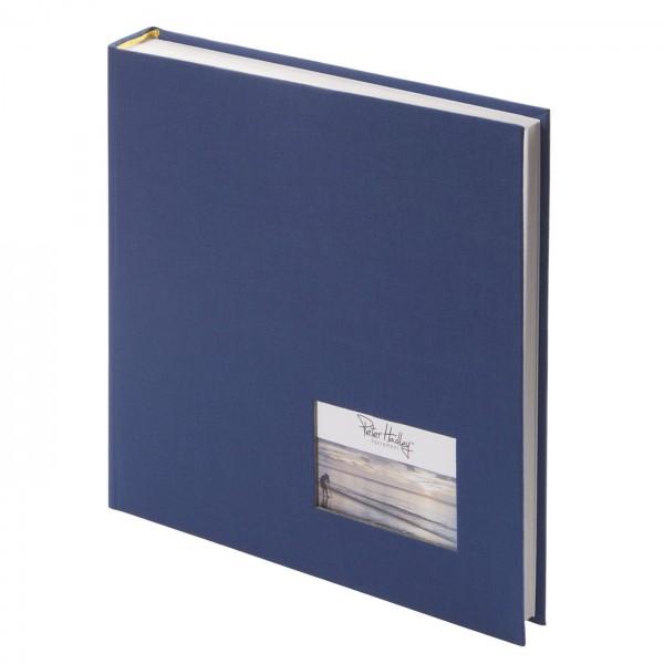 Peter Hadley Buchalbum 25x25cm, dunkelblau