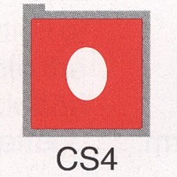Cromatek Colorspot oval weich rot CS4