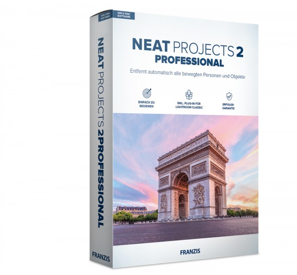 Franzis NEAT projects 2 Professional Software