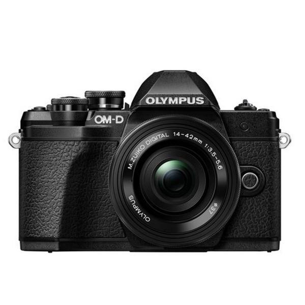 Olympus OM-D E-M10 MarkIII+14-42EZ Pancake schwarz
