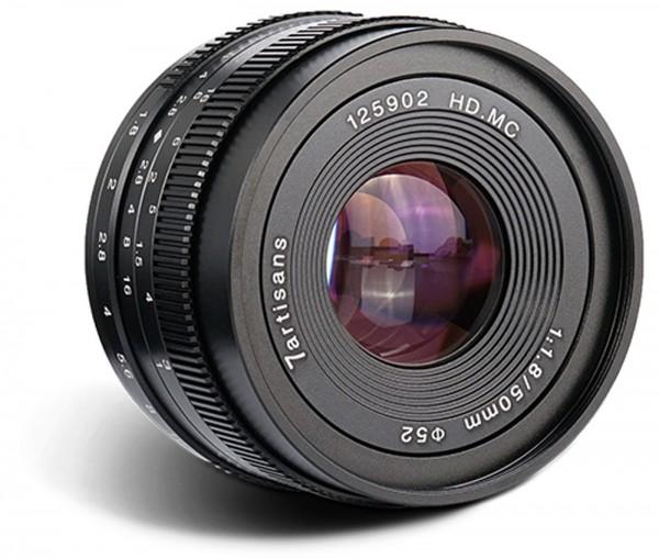 7Artisans 50mm f/1,8 für Sony E (APS-C)
