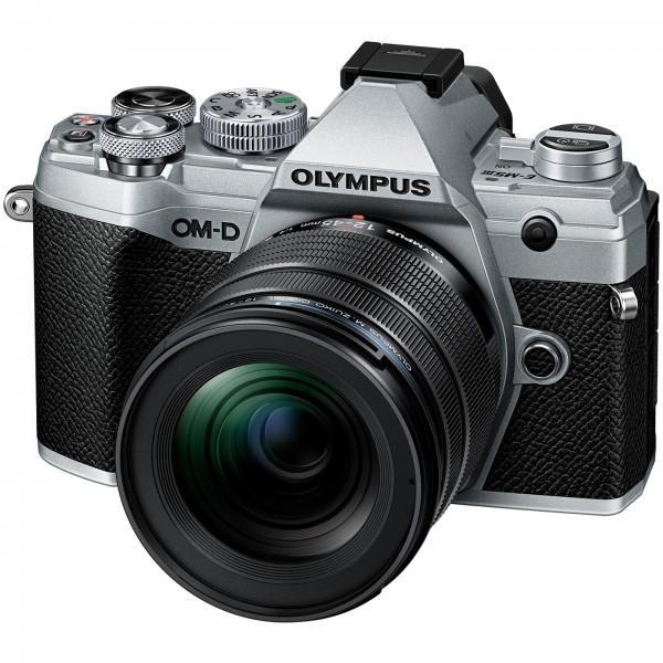 Olympus E-M5 Mark III Set +12-45mm, schwarz/silber