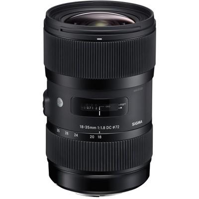 """Sigma 1,8/18-35mm DC HSM """"Art"""" für Canon EOS"""