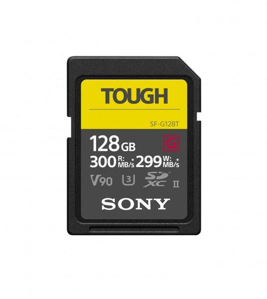 Sony SDXC SF-G Tough Class 10 UHS-II 300MB/s 128GB