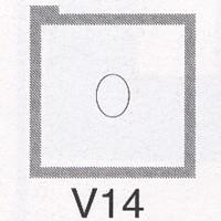 Cromatek Vignetten hell oval klein V14
