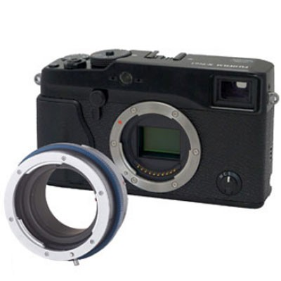 Novoflex Adapter Canon FD Objektive an Fuji X PRO